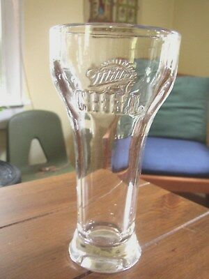 Miller Chill heavy duty Beer Glass