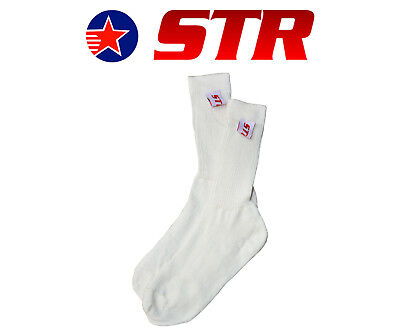 STR Fireproof Nomex Socks, FIA Approved, Ideal for Race/Rally, Size UK 7 - UK 15