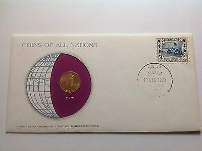1 Numisbrief aus Afrika aus 1979 coins of all Nations