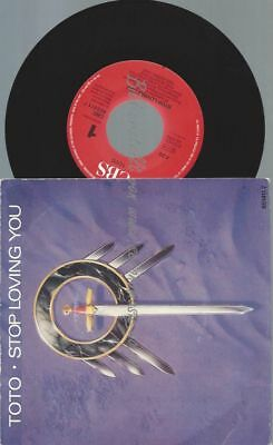 """7""""   Toto – Stop Loving You"""