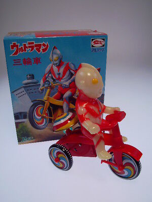 "GS JAPAN HEROES ""ULTRAMAN TRICYCLE"" BULLMARK JAPAN,  NEU/NEW/NEUFnNEW BOX !"