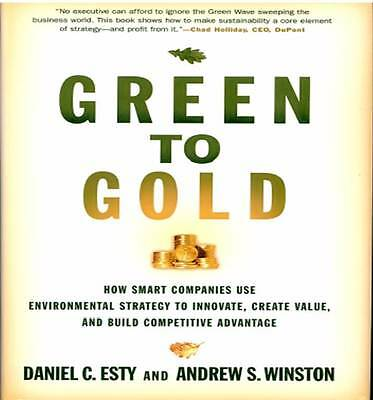 Green to Gold, Esty/Winston, English Language, very good condition, rare