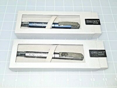 Judd's Lot of 2 NEW Online Fountain Pens