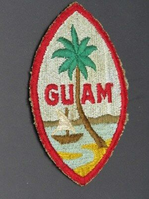 Original Guam Patch (Old)-Quality Machine Embroidery
