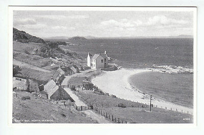 Canty Bay North Berwick East Lothian c1957 JB White A1503 Old Postcard Unposted