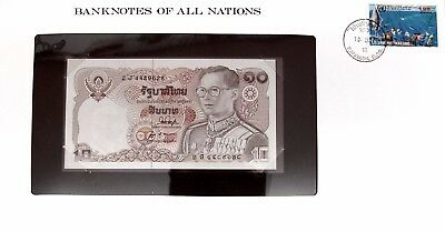 THAILAND -1980 - 10 BAHT - CU - P87a - BANKNOTES OF ALL NATIONS  7588