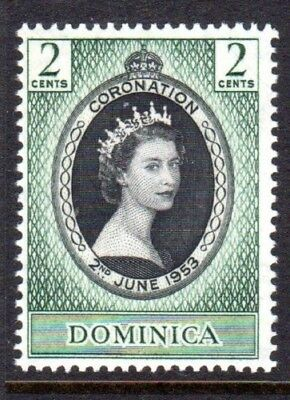 1953 DOMINICA CORONATION SG139 mint unhinged