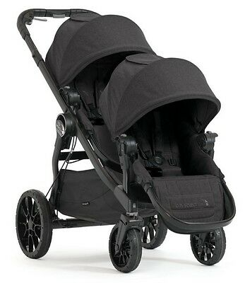 Baby Jogger 2017 City Select LUX Double Stroller in Granite New Open Box!!