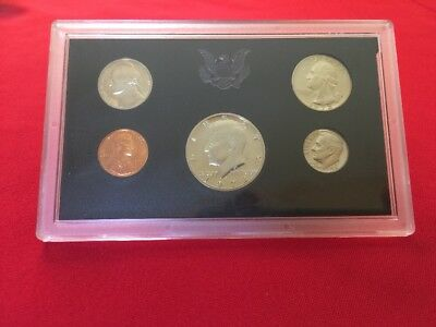 U.S. MINT 1972 UNITED STATES COIN CLAD PROOF SET 5 Coins Sealed