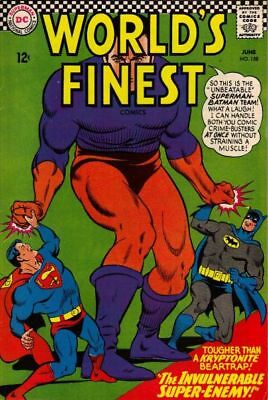 WORLD'S FINEST COMICS #158 VG/F, SUPERMAN, BATMAN, ROBIN, DC Comics 1966