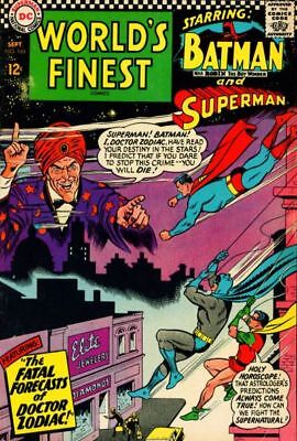 WORLD'S FINEST COMICS #160 VG/F, SUPERMAN, BATMAN, ROBIN, DC Comics 1966