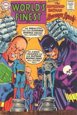 WORLD'S FINEST COMICS #175 G, SUPERMAN, BATMAN, Neal Adams C/A, DC Comics 1968