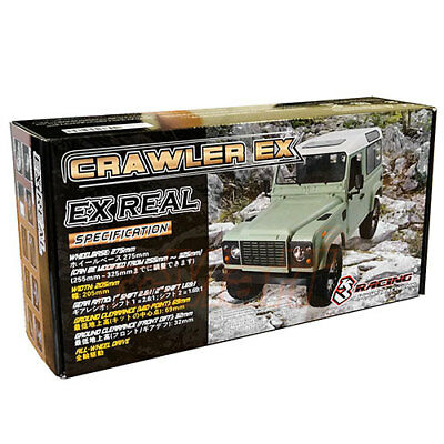 3Racing EX REAL 1:10 Crawler 4WD RC Cars Kit EP Off Road #KIT-EX-REAL