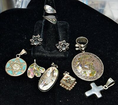 Vintage sterling silver lot great items !
