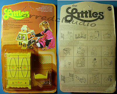 The Littles Mattel Accessori 1796 Armadio Culla Metallo Plastica Nuovo Completo