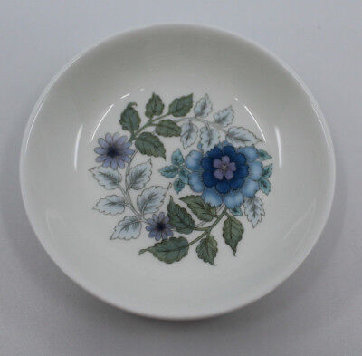 """Wedgwood Bone China Clementine Small Pin Dish Plate 10.0 cm 4"""" Wide England Made"""