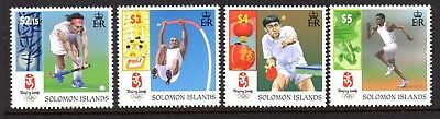 2008 SOLOMON ISLANDS OLYMPIC GAMES BEIJING SG1246-1249 mint unhinged