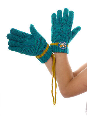 O`Neill Glove Finger Gloves Knitted Glove Knit Blau Braid Pattern