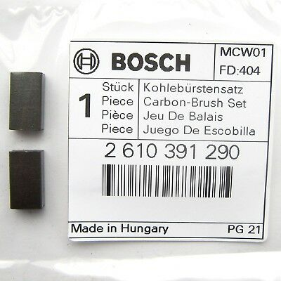 Bosch Carbon Brushes PSB 500 650 Drill PST 650 700 Saw PBS 7 Sander 2610391290