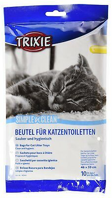 Trixie Clean and Hygienic Large Litter Tray Liners For Cat Contains 10 Pieces