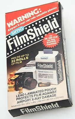 SIMA Film Shield Camera Lead Lined Bag for Airport X-ray up to 22 rolls  366865