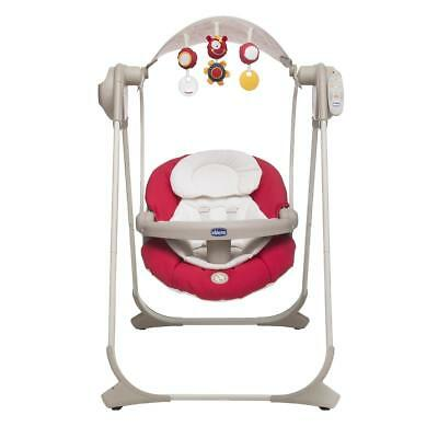Chicco Polly Swing UP For Newborn Baby (RED WAVE) ON SALE! WAS £150