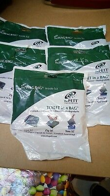 ORIGINAL The Wag Bag Toilet in a Bag surplus military issue