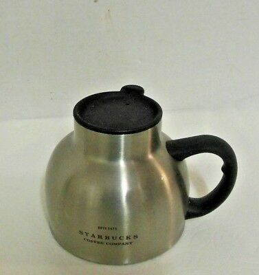 Starbucks stainless steel chubby mug are