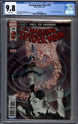 Amazing Spider-Man #790  Alex Ross Cover 1st Print CGC 9.8