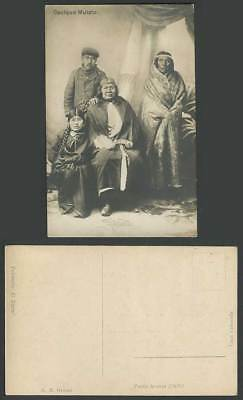 Chile Cacique Mulato Last Indian Chief Tehuelches of Patagonia Old R.P. Postcard