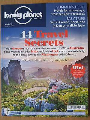 Lonely Planet Traveller July 2016 Greece Australia Italy Nicaragua Croatia USA