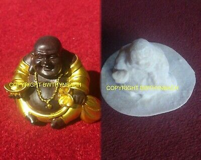 New Design Rubber Latex Mould Mold To Make Laughing Buddha Feng Shui Ingot