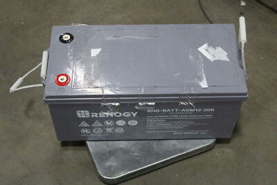 Renogy Deep Cycle AGM Battery 12V 200Ah For RV Solar Marine & Off-Grid