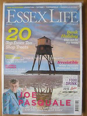 Essex Life May 2016 Joe Pasquale Secret Chelmsford Loughton Tiptree Toppesfield