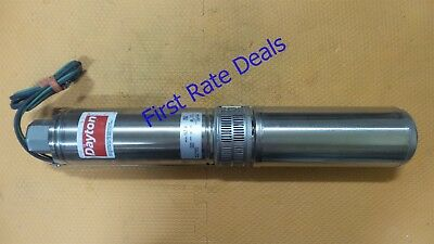 Dayton 1LZR4 Deep Well Submersible Pump Franklin 10FV05S4-2W115 2445049004S