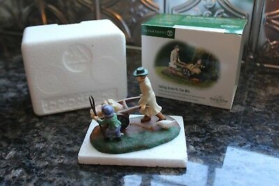 "Dept 56 Dickens Village ""Taking Grain to the Mill"" #58545 MINT"