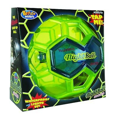 New Britz'n Pieces Tangle Nightball Soccer Ball Bma827