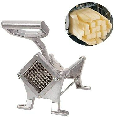New French Fry Potato Aluminum Alloy Strip-Cutter Fruit Vegetable Carve Slicer