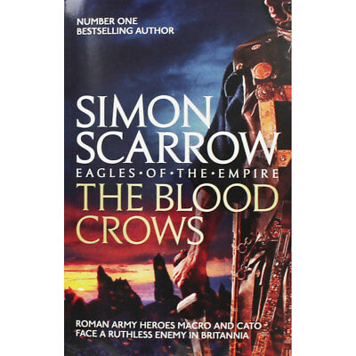 The Blood Crows by Simon Scarrow (Paperback), New Arrivals, Brand New