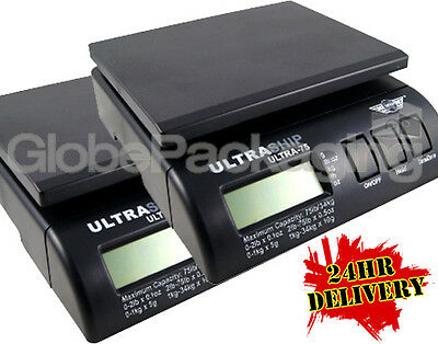 2 x Digital Parcel Postal Weighing Scales 34kg 75lb