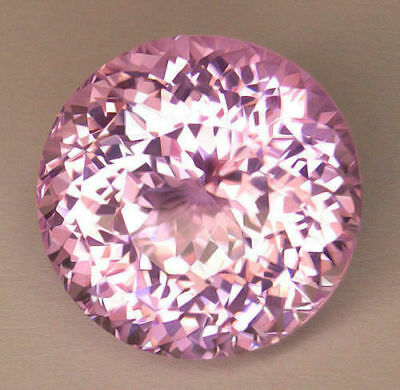 60.53Ct Vvs1 **certified** Precision Portuguese Round Cut World Class Kunzite