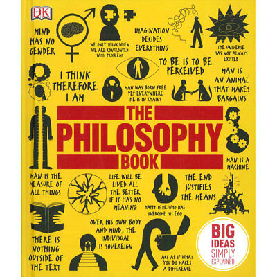 The Philosophy Book by Anon (Hardback), Books, Brand New