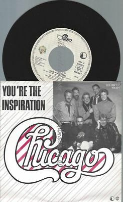 "7""   Chicago   ‎– You're The Inspiration"