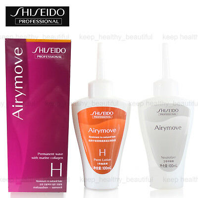 Shiseido Airymove Permanent Wave with Marine Collagen H free registered post