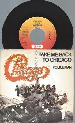 """7"""" Chicago  – Take Me Back To Chicago"""
