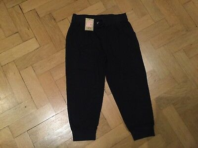 NWT Juicy Couture New & Genuine Girls Age 10 Blue Cotton Cuff Leg Pants