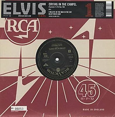 Crying in the Chapel [10' VINYL - BRAND NEW] by Elvis Presley