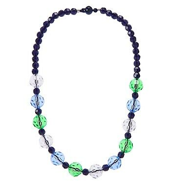 NWT Gymboree SPRING PREP Girls 4 5 6 7 8 10 12 Blue & Green Beaded Necklace