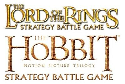 Lord Of The Rings / The Hobbit Miniatures Game - Armys Of Evil Metal Figures