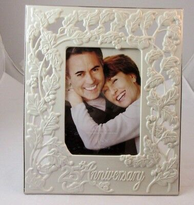 Lenox Portrait Gallery 25th Wedding Anniversary 5x7 Frame New Item